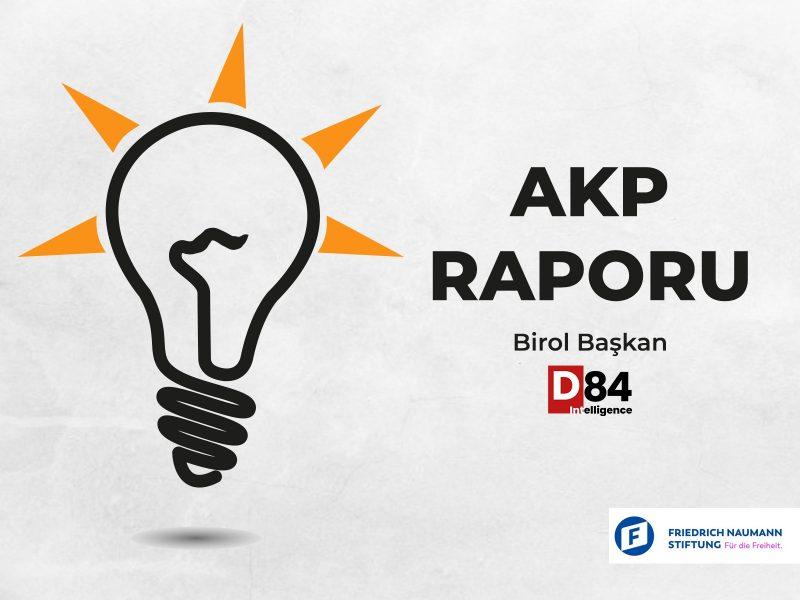 Siyasi Parti İnceleme Raporları: Adalet ve Kalkınma Partisi (AKP)