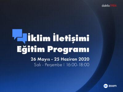 Daktilo1984 İklim İletişimi Eğitim Programı