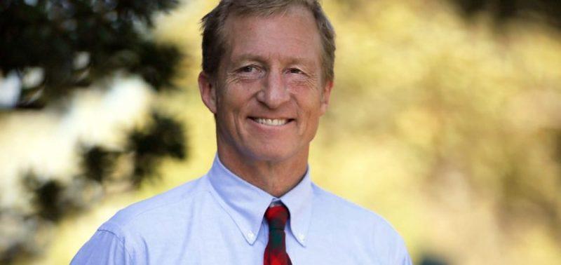 Tom Steyer: Servetinin Yarısını Sosyal Amaçlar ve Çevreyi Korumak İçin Harcayacağına Söz Vermiş Bir İş İnsanı